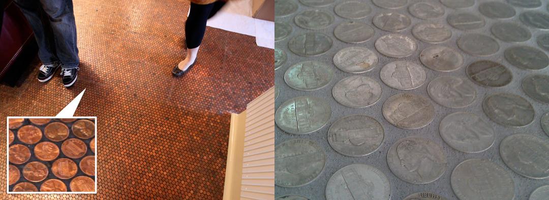 Nickel Tile Floor! A DIY Bathroom Renovation | Apartment Therapy
